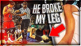 He Broke My Leg At Ace Family Event (Charity Basketball Highlights) thumbnail