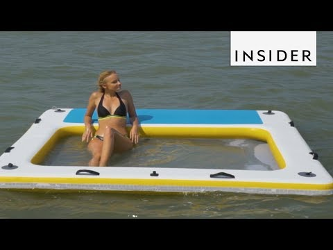 Thumbnail: Water Raft Is Basically The World's Greatest Lounge