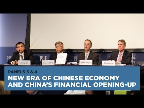 New Era of Chinese Economy and China's Financial Opening-up: Panels 3 and 4