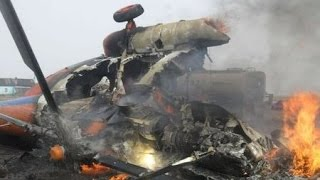 Видео аварии  Вертолет Ми 28Н разбился на Авиамиксе(, 2015-08-02T09:51:35.000Z)