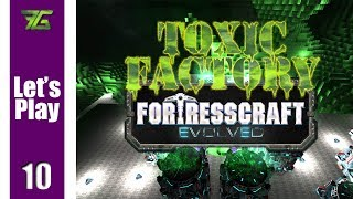 FortressCraft Evolved : Toxic Factory - Ep 10 Research Lab