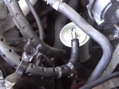 how to replace fuel filter on nissan altima 2001