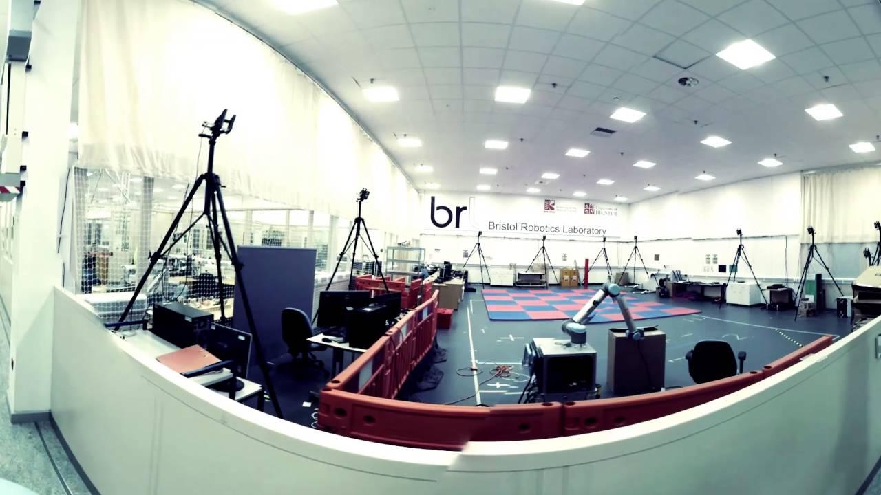 360 Tour Bristol Robotics Laboratory Robotics Innovation