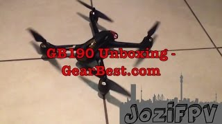 GB190 Frame Kit from GearBest.com Unboxing | JoziFPV