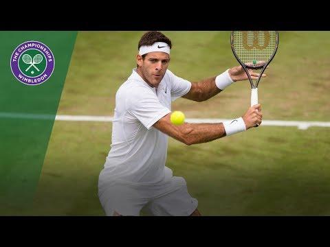 Juan Martin del Potro v Thanasi Kokkinakis highlights - Wimbledon 2017 first round