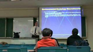 Environmental Sociology 3 (2/5): Macrotheories: The Origins of the Human-Environmental World