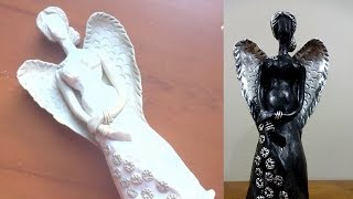 Hello everyone, in this video you will how to make angel using waste plastic bottle.it's very easy make. so, let's recycle your with creativity...