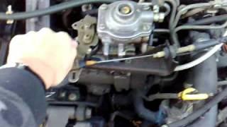 moteur de volkswagen golf II