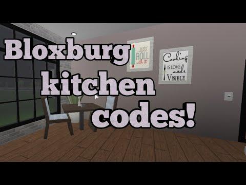 Kitchen Codes Welcome To Bloxburg Cloudyyrainbow Youtube