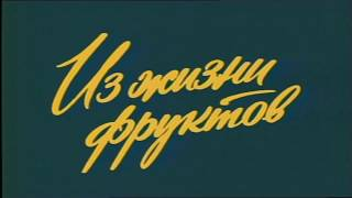 Из жизни фруктов [2 серии] 1981 г.FHD