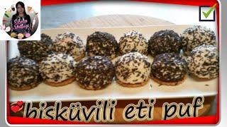 ( Eti puf ) Bisküvili Eti Puf Benzeri Nasıl yapılır ? Sibelin mutfağı ile yemek tarifleri