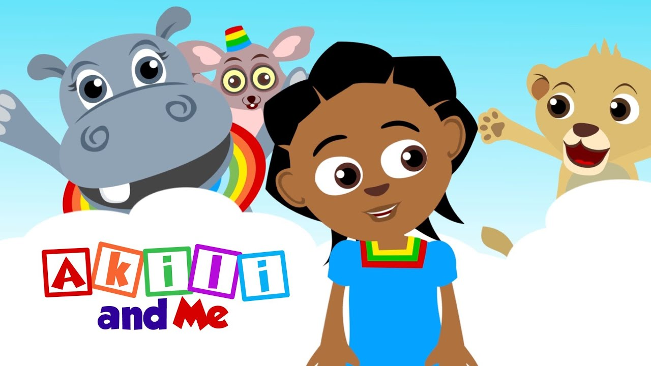 Akili and Me - English Themesong - African animation for learning English and more!