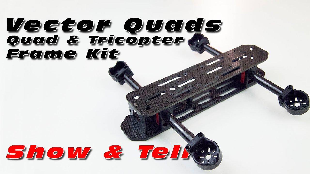 Vector Quads - Tilt Rotor Quadcopter Frame Kit - Show & Tell - YouTube
