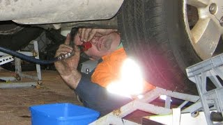 removing the 4 7l power tech magnum engine wj jeep grand cherokee episode 8