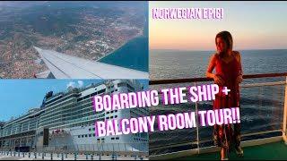 NORWEGIAN EPIC CRUISE VLOG 2018!!   Day 1 Mediterranean Cruise