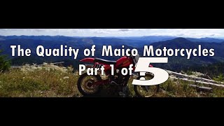 The Quality of Maico Motorcycles Part 1 of ? (Documentary)