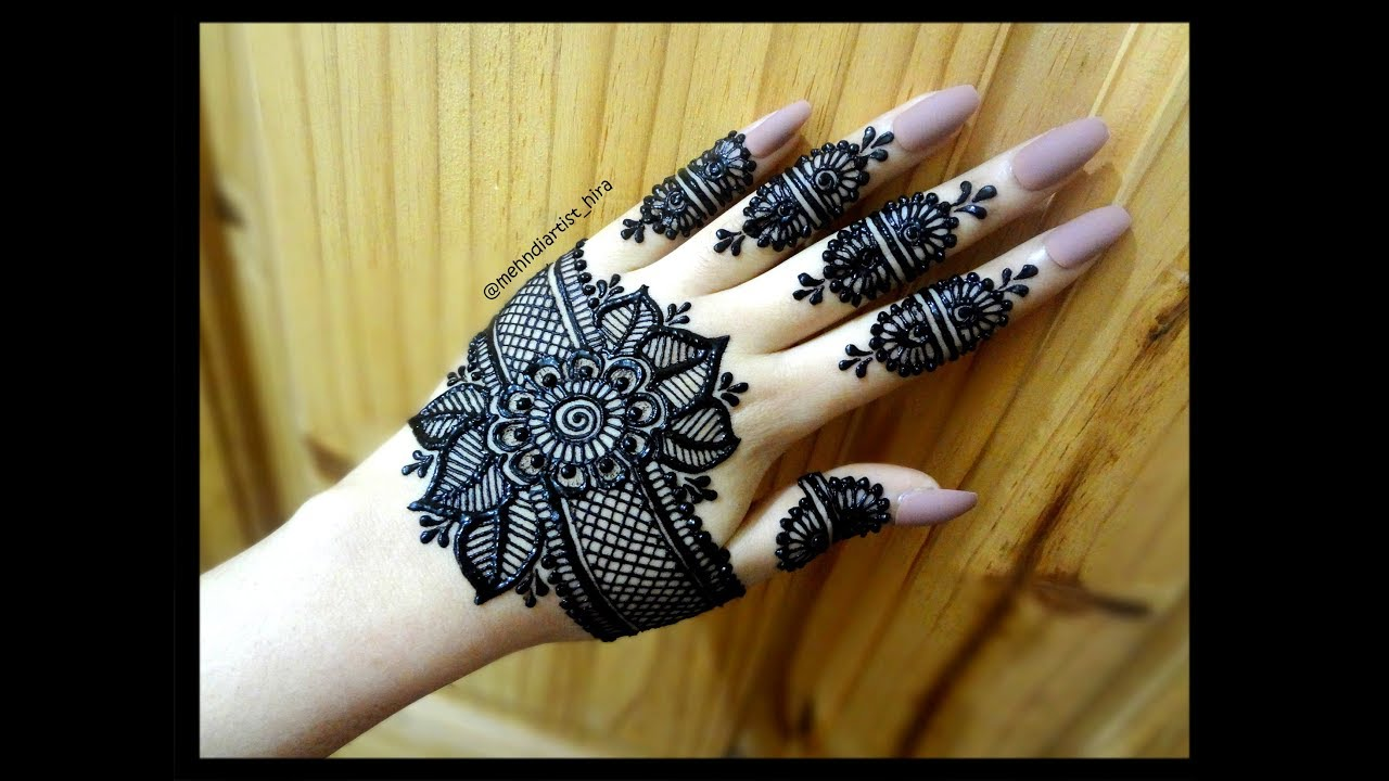 mehndi design simple easy and beautiful