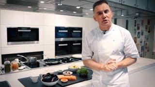 Chef Gary Rhodes of Rhodes W1 cooks for Miele Dubai Restaurant Week