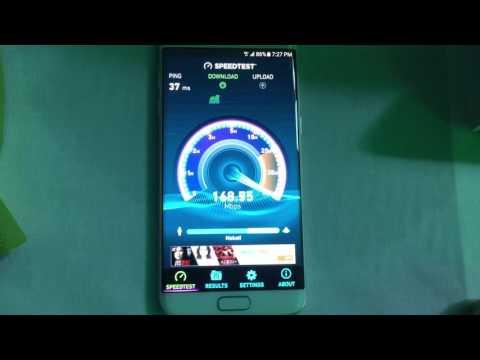 Smart LTE-A Speedtest