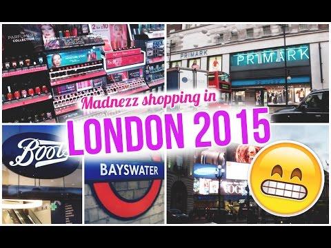 LONDON 2015 | Shopping madness!
