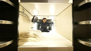 Traveling on a Budget in Tokyo [Experiencing a Japanese Capsule Hotel]