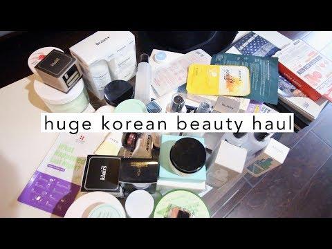 MASSIVE Korean Beauty Haul • Dr. Jart, CosRX, Klairs, NeoGen