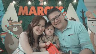 Marcus at 1 | Baptism & 1st Birthday | Cinematic Highlights (Edited Video) | Mary the Queen Parish