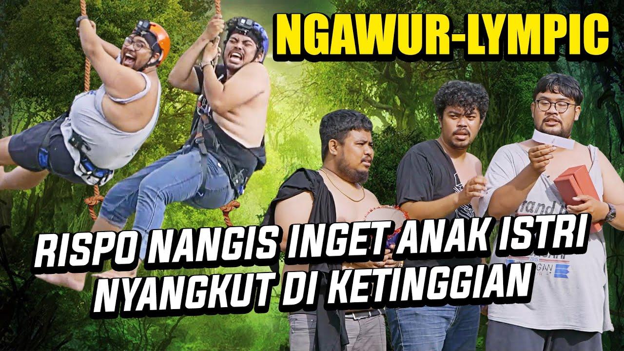 NGAWUR! RISPO & HIFDZI NANGIS, NYANGKUT DI FLYING FOX | RIGEN MALAH KABUR GEMETERAN