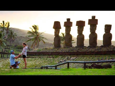 Easter Island Proposal Adventure in 4K! | DEVINSUPERTRAMP