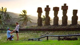 Easter Island Proposal Adventure in 4K! | DEVINSUPERTRAMP