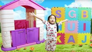 수지의 플레이하우스 집짓기 집만들기 놀이 Suji Pretend Play with COLORFUL Kids PlayHouse Toy