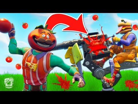 *NEW* FOOD FIGHT Limited Time Mode In Fortnite Battle Royale!