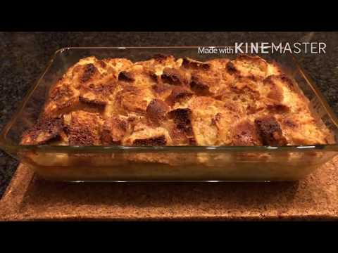 Easy Bake Bread Pudding