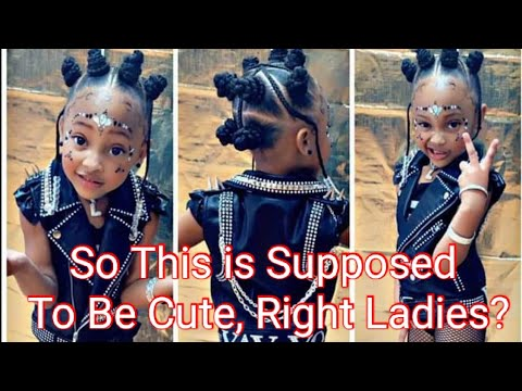 Woman Posts Picture of Young Black Girl... Cute or Nah?