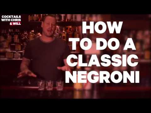 How to Do a Classic Negroni - Cocktails with Chris and Will