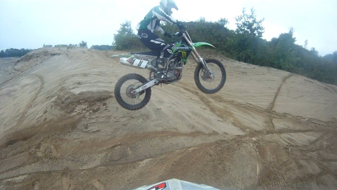 Dirt Bike Crash Compilation At The Sand Dunes Youtube