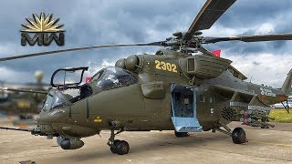 Russian Mil Mi-35M Attack Helicopter [Review]