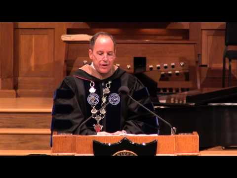 Matriculation Convocation - Mark Burstein - Crossing the Threshold - 09.19.13