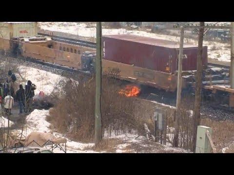 Protests Disrupt Rail Travel In Ontario, Quebec