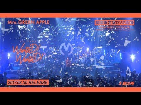 Mrs. GREEN APPLE - 5thシングル「WanteD! WanteD!」初回限定盤収録ライブDVDダイジェスト
