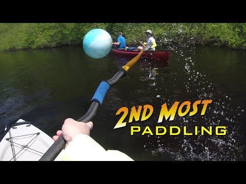 Paddling the Lower Prairie River Near Merrill, Wisconsin