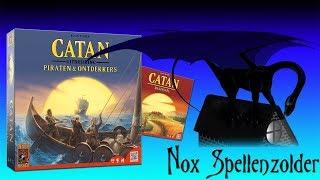 Kolonisten van Catan: Piraten en Ontdekkers (NL)