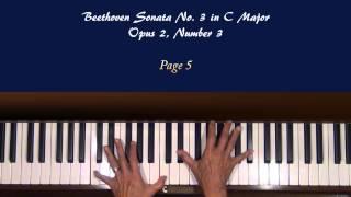 Beethoven Piano Sonata Op 2 No 3 1st Mvt Allegro Con Brio Tutorial Part II