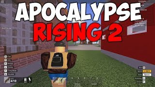 APOCALYPSE RISING 2 IS OUT!   ALPHA GAMEPLAY (ROBLOX)
