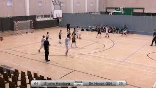Sharks Hamburg - Sverresborg Hoops (Part  2)  - Copenhagen Invitational 2018 - Boys 04