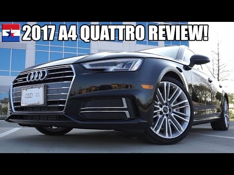 2017 Audi A4 Quattro SLine Review!