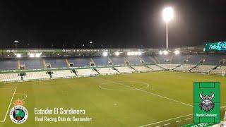Estadio El Sardinero in Santander Cantabria Spain | Stadium of Real Racing Club de Santander