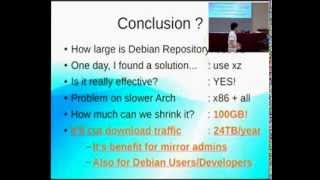 Lets shrink Debian package archive! (@DebConf12)