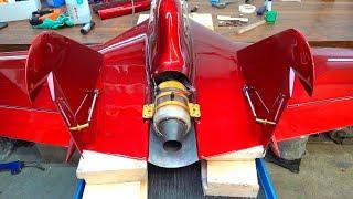 Самолет с турбиной - добавил GPS и начал делать шасси