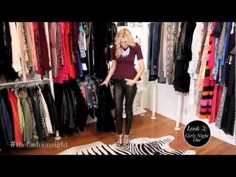 238e777dd63dc9 OOTD - Casual, Relaxed, Leather pants - YouTube